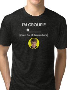 """I'm Groupie Number.... "" Joss Whedon's Dr. Horrible - Light Tri-blend T-Shirt"
