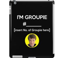 """I'm Groupie Number.... "" Joss Whedon's Dr. Horrible - Light iPad Case/Skin"