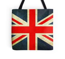 Grunge Effect Union Jack Tote Bag