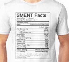 SMENT Nutrition Facts Unisex T-Shirt
