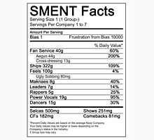 SMENT Nutrition Facts Unisex T-Shirt