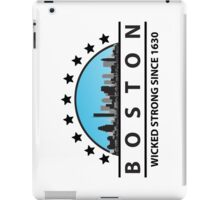 Boston Wicked Strong Since 1630 iPad Case/Skin