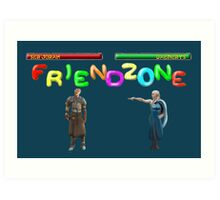 Mortal Friendzone Art Print