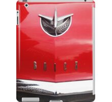 Red Buick iPad Case/Skin