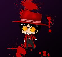 Chibi Alucard by artwaste