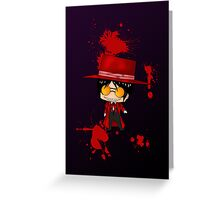 Chibi Alucard Greeting Card