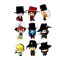 Anime Hatters Photographic Print