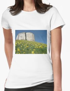 Clifford's Tower York Womens Fitted T-Shirt