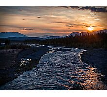 Sunrise at Quill Creek Photographic Print