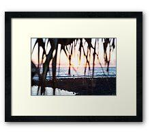 A Lennox Sunrise Framed Print