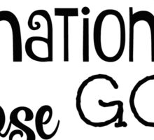Psalms Bible Verse Nation God is Lord Sticker