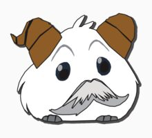 Poro with mustache 2  without text [League of Legends by Sockyy