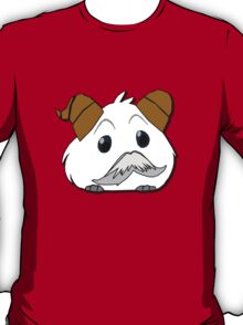 Poro with mustache 2  without text [League of Legends T-Shirt