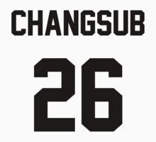 BtoB Changsub Jersey One Piece - Short Sleeve