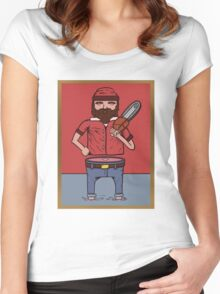 Dumb Jack Women's Fitted Scoop T-Shirt