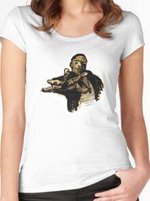 Biggie (vector). Women's Fitted Scoop T-Shirt