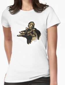 Biggie (vector). Womens Fitted T-Shirt