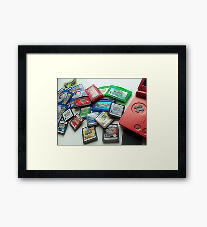 Pokemon!! Framed Print