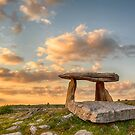 5000 years old Polnabrone Dolmen in Burren, Co. Clare - Ireland by Noel Moore Up The Banner Photography