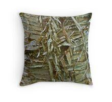 Yellow Birch bark 2 Throw Pillow