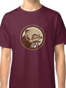 Photographer Vintage Bellows Camera Retro Classic T-Shirt