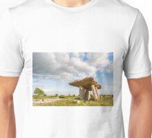 5000 years old Polnabrone Dolmen in Burren, Co. Clare - Ireland Unisex T-Shirt