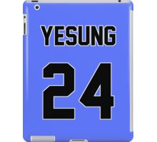 Super Junior Yesung Jersey iPad Case/Skin
