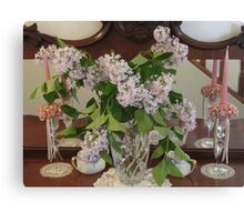 Lilacs in the Room! Canvas Print
