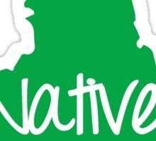 New York Native Vinyl Sticker Car Window Door Bumper Decal Pride NY Sticker