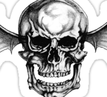A7X Deathbat Sticker