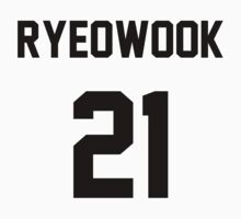 Super Junior Ryeowook Jersey One Piece - Short Sleeve