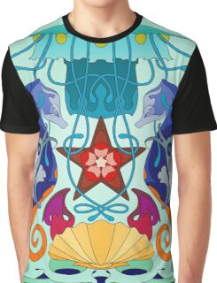 Sea life panoply Graphic T-Shirt