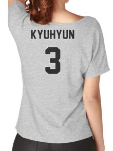 Super Junior Kyuhyun Jersey Women's Relaxed Fit T-Shirt
