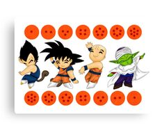 Dancing DBZ Canvas Print