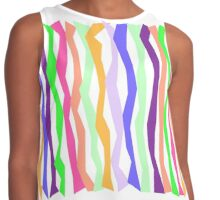 Bold and Fun Color Sticks Contrast Tank