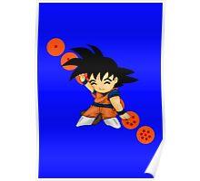 Dancing Goku Poster