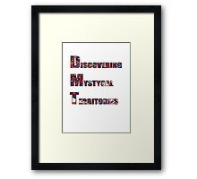 Discovering Mystical Territories 4 Framed Print
