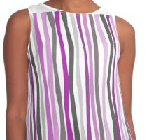 Purple Haze Color Sticks Contrast Tank