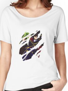 Lelouch Lamperouge and c.c. Women's Relaxed Fit T-Shirt