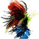 A Splash of Color by JoeConde