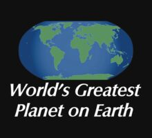 World's Greatest Planet on Earth One Piece - Long Sleeve