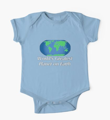 World's Greatest Planet on Earth One Piece - Short Sleeve
