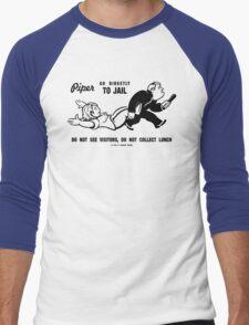 PIPER GO TO JAIL Men's Baseball ¾ T-Shirt