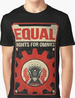 Equal Rights for Omnics Graphic T-Shirt