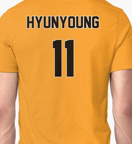 Rainbow Hyunyoung Jersey Unisex T-Shirt