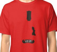 Gibson silhouette Classic T-Shirt