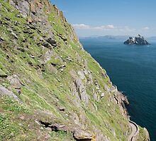 Skellig Michael, UNESCO World Heritage Site, Kerry, Ireland. Star Wars The Force Awakens Scene filmed on this Island. wild atlantic way by Noel Moore Up The Banner Photography