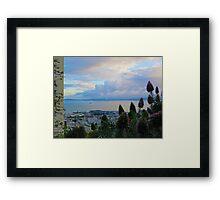 San Francisco Bay Tanker Framed Print