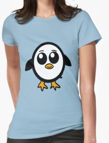 Chibi Penguin Character  Womens Fitted T-Shirt