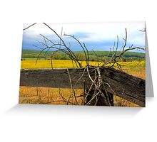 Off Blackwell Road Greeting Card